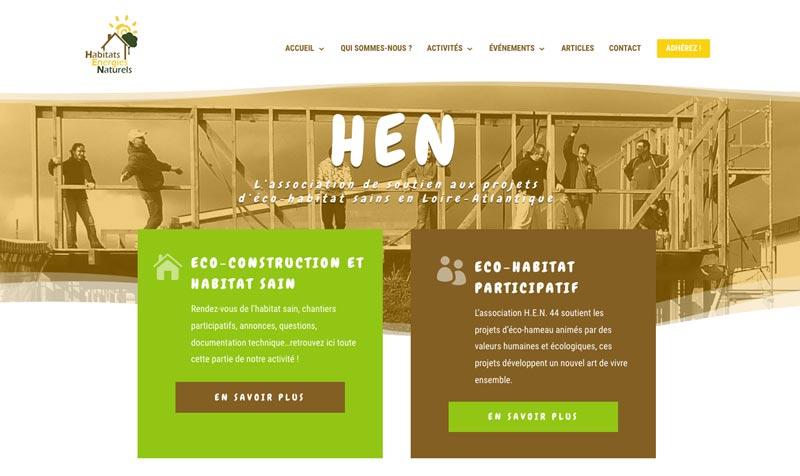 Lancement du nouveau site web HEN44.org