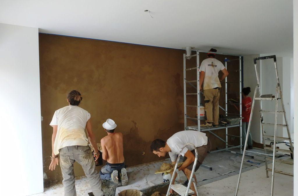Terre crue : chantiers écoles
